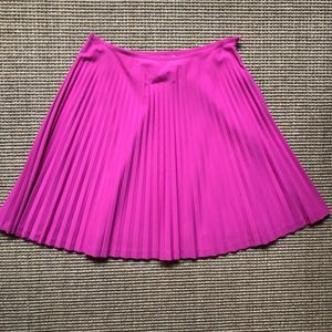 Trina Turk Pink Pleated Skirt